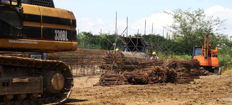 En 42% avanza obra del puente sobre el río Lili
