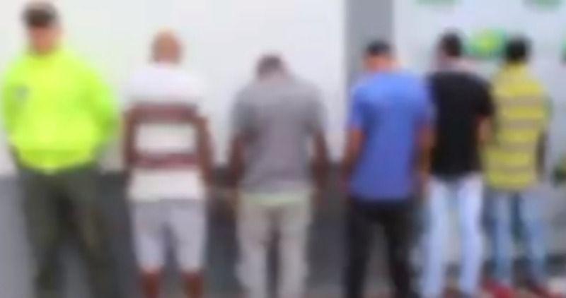 """Encarcelados miembros de la banda """"Los de La Frontera"""""""
