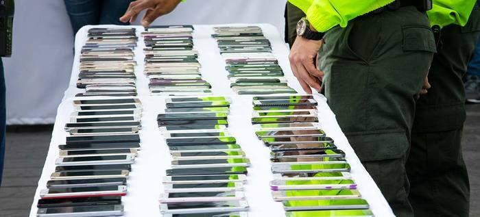 Más de 2 mil celulares recuperados esperan ser reclamados