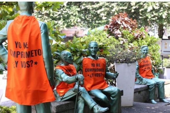 Piden desmontar campaña cívica de monumentos y símbolos históricos