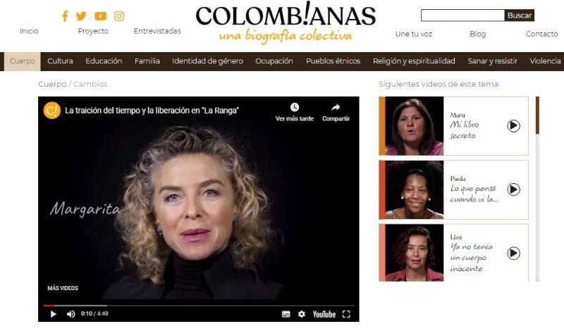 """Caleña Margarita Rosa de Francisco se unió a """"Colomb!anas, una biografía colectiva"""""""