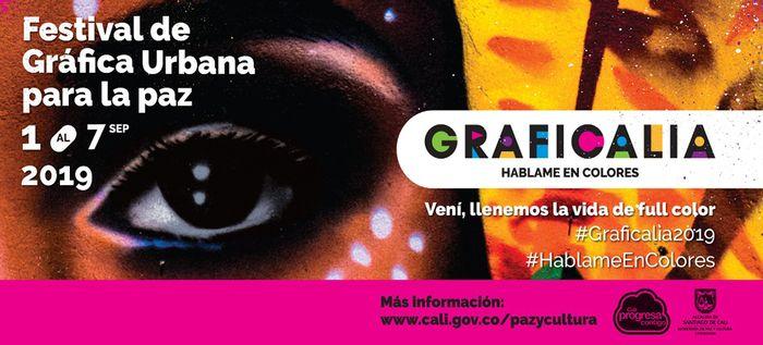 Festival Graficalia apuesta de construcción de paz y reconciliación