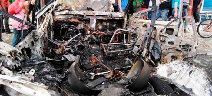 Más de 150 incendios vehiculares se han registrado en la ciudad