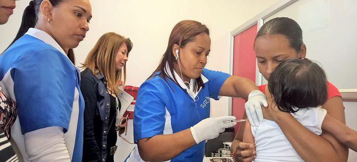 En Cali no se registran casos de sarampión
