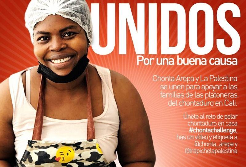 Mediante campaña buscan apoyar a las vendedoras de chontaduro
