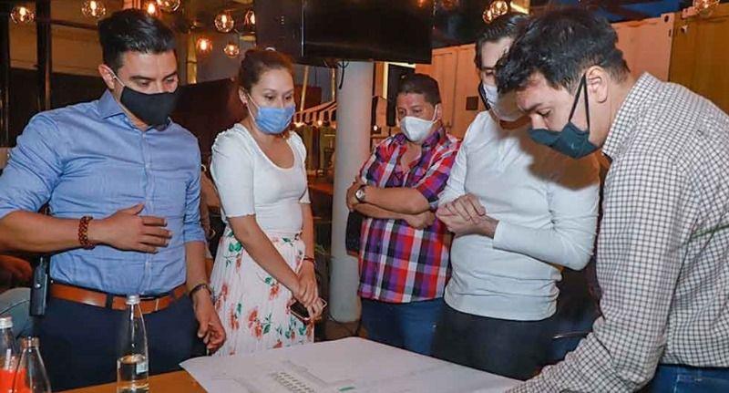 Proyecto piloto para reapertura de restaurantes por el visto bueno