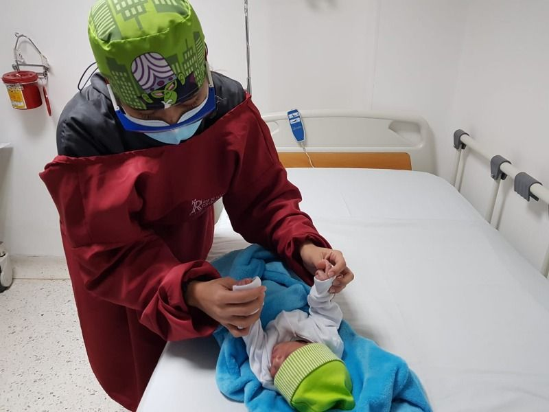 Recién nacido abandonado quedó bajo custodia del ICBF