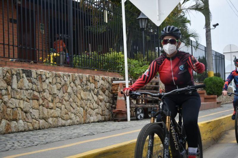 Volvió la cicloruta intermunicipal Cali- Palmira