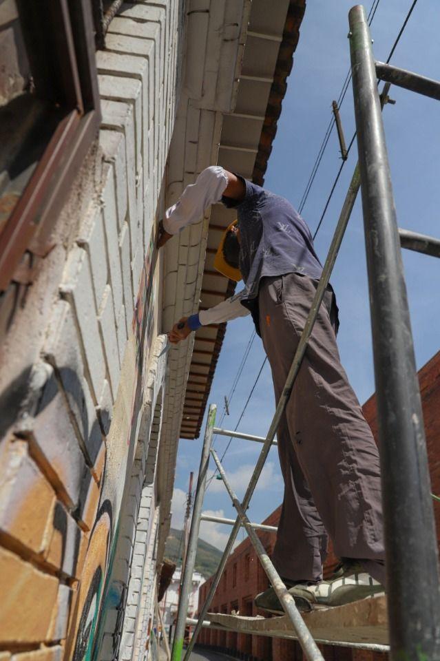 Recuperan fachadas de edificaciones en el Centro Histórico de Cali