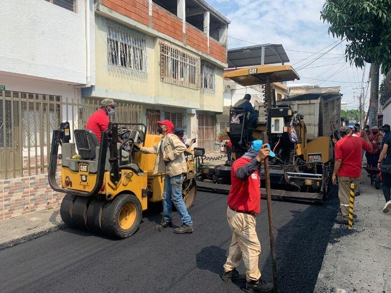 Rehabilitados más de 82 mil metros cuadrados de vías