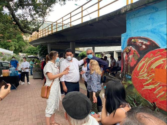 """""""Cali Ecocrea"""" entrega primer espacio renovado en la ciudad"""
