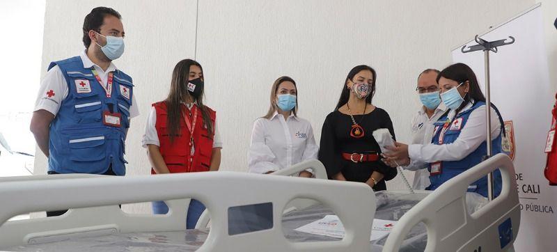 Embajada de EE. UU. y Cruz Roja Colombiana donaron camas hospitalarias a Cali