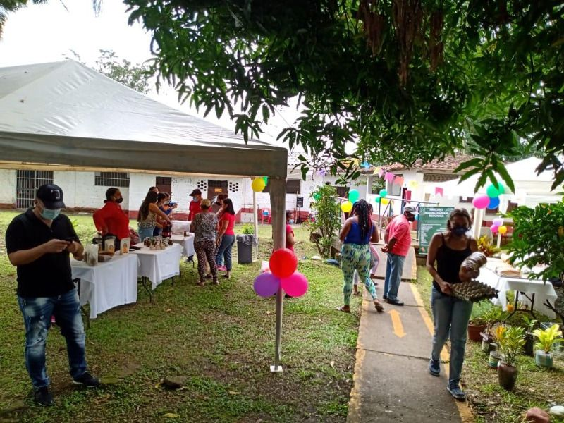 Primer Mercado Agroecológico Rio Cauca en el Hormiguero