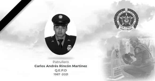 Hallaron el cuerpo sin vida del patrullero Carlos Rincón