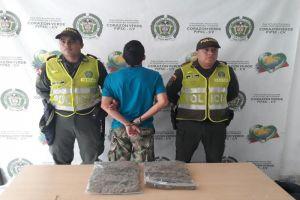 Aprehendido sujeto con 2.000 dosis de marihuana en Villas de Veracruz