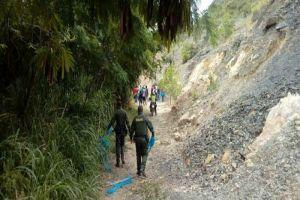Van 45 personas detenidas por invasión al cerro La Bandera