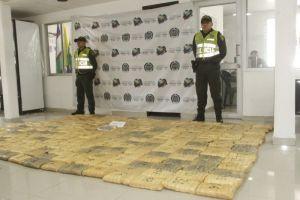 Inmovilizan vehículo con 130 kilos de marihuana en La Nueva Base