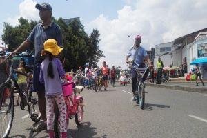 Caleños volvieron a disfrutar de más de 34 kilómetros de Ciclovida