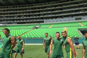 Defensa y Justicia agradeció al Deportivo Cali por entrenamiento en Palmaseca