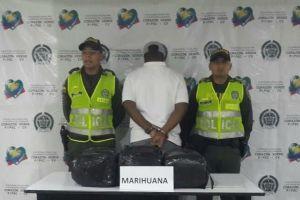 En barrio Benjamín Herrera capturan a sujeto con 15 mil dosis de marihuana