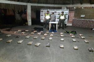 Capturan a menor con 80 kilos de marihuana en el corredor vial de Candelaria