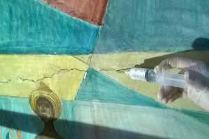 """Restauran mural """"La historia de Cali"""" del maestro Hernando Tejada"""