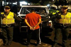Policía recuperó vehículo hurtado en Chiminangos y detuvo al presunto ladrón