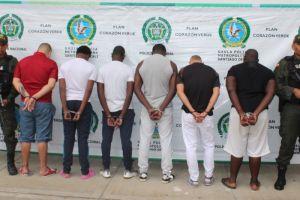 Policía desarticula banda y captura a 11 personas por delito de extorsión