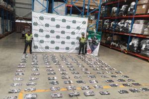 Decomisados más de $2.000 millones en mercancía de contrabando