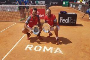 Juan Sebastián Cabal y Robert Farah se coronaron campeones en Masters 1000 de Roma