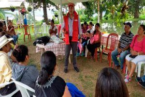 En Calima-El Darién dan ejemplo de trabajo grupal para recuperación emocional de víctimas
