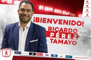 América de Cali presentó a su nuevo Presidente: Ricardo El Gato Pérez