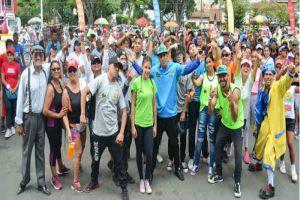 Atletas con discapacidad participaron en el Media Maratón de Cali