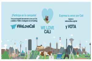 """Vota por Cali en concurso mundial """"We Love Cities"""" como mejor ciudad ambiental"""