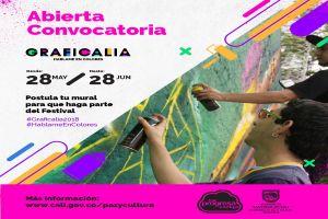 Sigue abierta la convocatoria para participar Festival Graficalia 2018