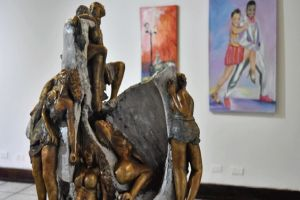"""Exposición """"Panorámica 2018"""" muestra 26 obras de artistas caleños"""