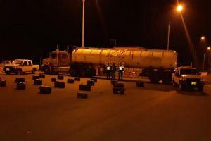 Incautados 334 kilos de droga dentro de camión cisterna en la vía Cali- Andalucía