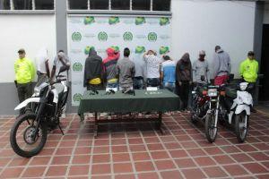 """Desarticulada banda """"Cerezos de los Chorros"""" señalada por homicidio en la Comuna 14"""