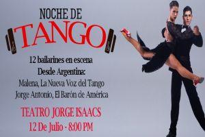 """Este 12 de julio habrá """"Noche de Tango"""" en Cali"""