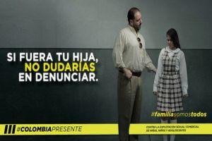 """""""Colombia Presente"""": Campaña contra la explotación sexual comercial de niñas, niños y adolescentes"""