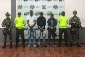 Tres solicitados en extradición por narcotráfico fueron capturados en Cali y Tumaco