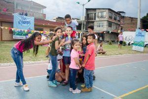 En fotos: Barrio El Guabal disfrutó de actividades deportivas y recreativas