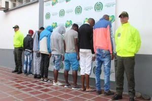 Detenidos miembros de banda dedicada al hurto a mano armada en la Comuna 14