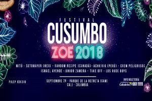 Festival Cusumbo hará vibrar a Cali en septiembre
