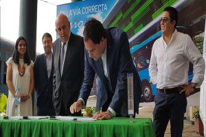 Cuatro concesionarios de transporte acuerdan reestructuración del MIO