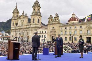 Iván Duque se juramentó como nuevo presidente de Colombia