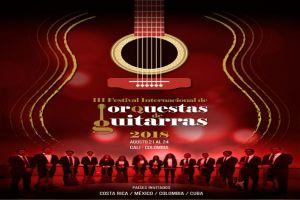Cali se viste de gala para el III Festival Internacional de Orquestas de Guitarra