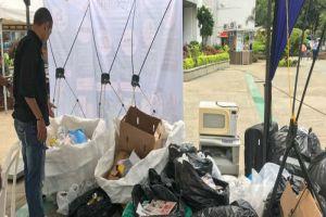Más de 400 kilos de material aprovechable acopió el Reciclatón