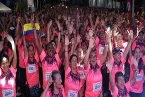 Caleños vivieron noche histórica en la Carrera Nocturna 5K