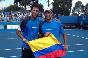 Sebastian Cabal y Farah liderarán el equipo colombiano contra Argentina en Copa Davis